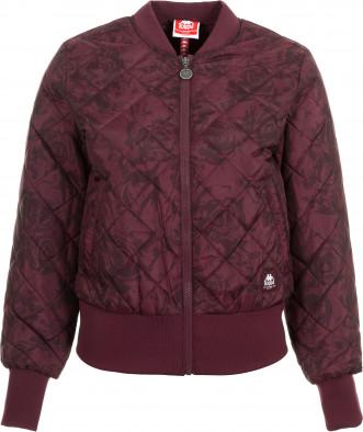 b6df32aac26 Куртка утепленная женская Kappa красный цвет - купить за 2249 руб. в ...
