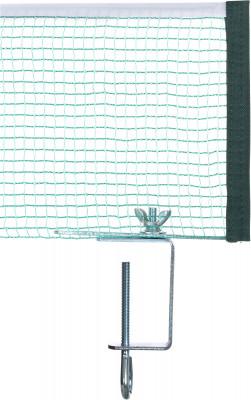 Сетка для настольного тенниса TorneoАксессуары<br>Упругая нейлоновая сетка с креплением для настольного тенниса выполнена из качественного и прочного материала, обладает высокими износостойкими свойствами.