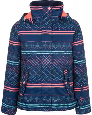 Куртка утепленная для девочек Roxy JettyКуртка для девочек roxy jetty - оптимальный вариант для сноубординга.<br>Пол: Женский; Возраст: Дети; Вид спорта: Сноубординг; Вес утеплителя на м2: 140 г/м2; Наличие мембраны: Да; Регулируемые манжеты: Да; Длина по спинке: 45 см; Водонепроницаемость: 10 000 мм; Паропроницаемость: 10 000 г/м2/24 ч; Защита от ветра: Да; Отверстие для большого пальца в манжете: Да; Покрой: Прямой; Дополнительная вентиляция: Да; Проклеенные швы: Да; Длина куртки: Средняя; Капюшон: Не отстегивается; Мех: Отсутствует; Снегозащитная юбка: Да; Карман для маски: Да; Карман для Ski-pass: Да; Выход для наушников: Нет; Водонепроницаемые молнии: Да; Артикулируемые локти: Да; Технологии: DRIFLIGHT 10K; Производитель: Roxy; Артикул производителя: ERGTJ03033; Страна производства: Китай; Материал верха: 100 % полиэстер; Материал подкладки: 100 % полиэстер; Материал утеплителя: 100 % полиэстер; Размер RU: 146-152;