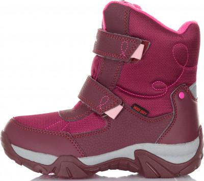Ботинки утепленные для девочек Outventure Snowbreaker, размер 29Ботинки и сапоги <br>Теплые детские ботинки outventure - отличный выбор для долгих зимних прогулок и активного отдыха на природе.