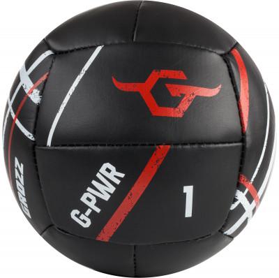 Медицинбол Grozz 1 кгТренировочный мяч, прекрасно подойдет для занятий фитнесом, аэробикой, лечебной физкультурой, используется для занятий кроссфитом.<br>Производитель: Grozz; Артикул производителя: GMD1; Страна производства: Россия; Диаметр: 14 см; Вес, кг: 1; Вид спорта: Кардиотренировки, Фитнес; Размер RU: Без размера;