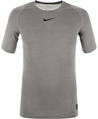 Футболка мужская Nike ProМужская футболка nike pro - оптимальный выбор для занятий тренингом. Комфорт плоские швы сводят к минимуму раздражение от натирания.<br>Пол: Мужской; Возраст: Взрослые; Вид спорта: Тренинг; Покрой: Зауженный; Плоские швы: Да; Производитель: Nike; Артикул производителя: 838091-091; Страна производства: Шри-Ланка; Материалы: 92 % полиэстер, 8 % эластан; Размер RU: 54-56;