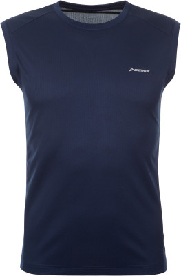 Футболка без рукавов мужская Demix, размер 46Мужская одежда<br>Удобная футболка без рукавов от demix станет отличным выбором для бега.