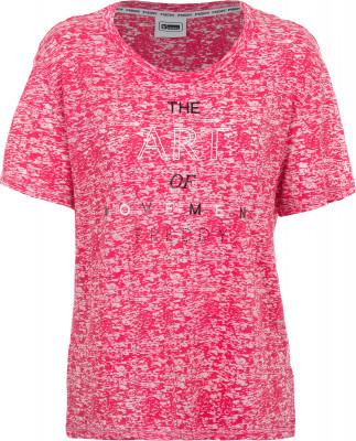 Футболка женская Freddy Basic Cotton, размер 44-46Футболки<br>Женская футболка от freddy создана для активных девушек, которые предпочитают спортивный стиль.