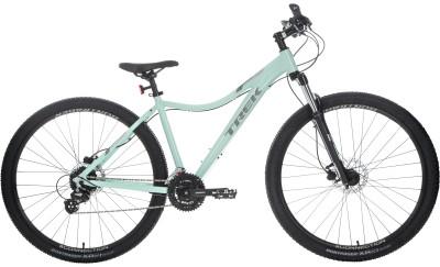 Trek SKYE SL WSD 29 (2018)Универсальный горный велосипед, который также подойдет для поездок по городу и катания в парках.<br>Материал рамы: Алюминий; Размер рамы: 17; Амортизация: Hard tail; Конструкция рулевой колонки: Полуинтегрированная; Наименование вилки: RST Gila, WSD Rider Right; Конструкция вилки: Пружинно-масляная; Ход вилки: 100 мм; Регулировка жесткости вилки: Да; Блокировка вилки: Да; Материал педалей: Нейлон; Система: Shimano Tourney TY501, 42/34/24; Количество скоростей: 24; Наименование переднего переключателя: Shimano Tourney Ty700; Наименование заднего переключателя: Shimano Tourney Tx80; Конструкция педалей: Классические; Наименование манеток: Shimano Altus M310; Конструкция манеток: Триггерные двурычажные; Тип переднего тормоза: Дисковый гидравлический; Тип заднего тормоза: Дисковый гидравлический; Материал втулок: Алюминий; Диаметр колеса: 29; Тип обода: Двойной; Материал обода: Алюминиевый сплав; Наименование покрышек: Bontrager x R2, 29 x 2,20; Материал руля: Алюминий; Название шифтера: Shimano Altus M310; Конструкция руля: Изогнутый; Регулировка руля: Нет; Регулировка седла: Да; Амортизационный подседельный штырь: Нет; Максимальный вес пользователя: 136 кг; Вид спорта: Велоспорт; Технологии: Alpha Silver; Производитель: Trek; Артикул производителя: TR548566/17; Срок гарантии: 6 месяцев; Вес, кг: 14,8; Страна производства: Китай; Размер RU: 158-170;