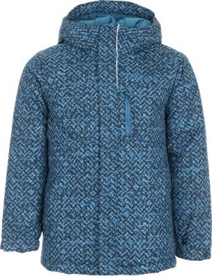 Куртка утепленная для мальчиков Columbia Alpine Free FallТеплая зимняя куртка для мальчиков columbia alpine free fall - идеальный вариант для прогулок и путешествий.<br>Пол: Мужской; Возраст: Дети; Вид спорта: Путешествие; Вес утеплителя на м2: 240 г/м2; Наличие мембраны: Нет; Возможность упаковки в карман: Нет; Регулируемые манжеты: Да; Длина по спинке: 59 см; Покрой: Прямой; Светоотражающие элементы: Да; Дополнительная вентиляция: Нет; Проклеенные швы: Нет; Длина куртки: Средняя; Наличие карманов: Да; Капюшон: Не отстегивается; Мех: Отсутствует; Количество карманов: 3; Водонепроницаемые молнии: Нет; Застежка: Молния; Материал верха: 100 % нейлон; Материал подкладки: 100 % нейлон; Материал утеплителя: 100 % полиэстер; Технологии: Omni-Heat, Omni-Shield; Производитель: Columbia; Артикул производителя: 1515861467L; Страна производства: Вьетнам; Размер RU: 150-157;