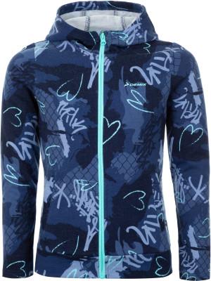 Джемпер для девочек Demix, размер 146Джемперы<br>Отличное завершение образа в спортивном стиле - джемпер для девочек от demix.