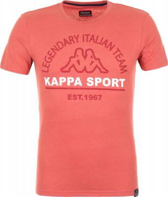 Футболка мужская Kappa, размер 52Футболки<br>Удобная футболка в фирменном стиле kappa. Натуральные материалы в составе ткани преобладает натуральный хлопок.