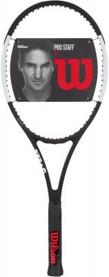Ракетка для большого тенниса Wilson Pro Staff 97L 27Ракетки<br>Ракетка pro staff 97l сочетает в себе элегантный дизайн pro staff rf97 роджера федерера и облегченную раму.