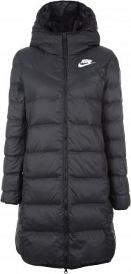 44afc1b2a11f Куртка пуховая женская Nike Windrunner черный цвет - купить за 5999 ...