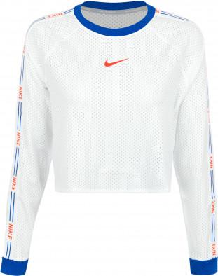 Лонгслив беговой женский Nike Run Hyper Femme