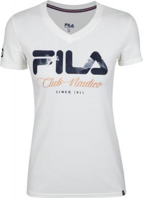 Футболка женская Fila, размер 48Футболки<br>Футболка в классическом стиле бренда fila отлично впишется в твой спортивный гардероб.