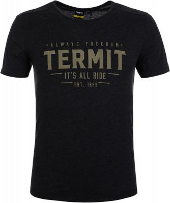 Футболка мужская Termit, размер 56Skate Style<br>Футболка от termit станет удачным выбором для активного отдыха и городских прогулок. Свобода движений прямой крой позволяет двигаться свободно.