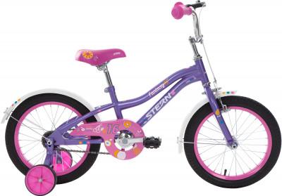Stern Fantasy 16 (2018)Специально для девочек младшего возраста (4-6 лет) разработан велосипед с размером колес 16 дюймов.<br>Материал рамы: Сталь; Амортизация: Rigid; Конструкция рулевой колонки: Неинтегрированная; Конструкция вилки: Жесткая; Материал педалей: Пластик; Количество скоростей: 1; Конструкция педалей: Классические; Тип переднего тормоза: Ободной; Тип заднего тормоза: Ножной; Материал втулок: Сталь; Диаметр колеса: 16; Тип обода: Одинарный; Материал обода: Сталь; Наименование покрышек: 16 x 2,125; Возможность крепления боковых колес: Да; Материал руля: Сталь; Конструкция руля: Изогнутый; Регулировка руля: Да; Регулировка седла: Да; Амортизационный подседельный штырь: Нет; Сезон: 2018; Максимальный вес пользователя: 40 кг; Вид спорта: Велоспорт; Технологии: Hi-ten steel; Производитель: Stern; Артикул производителя: 18FAN16; Срок гарантии: 2 года; Вес, кг: 10,7; Страна производства: Китай; Размер RU: 100-125;