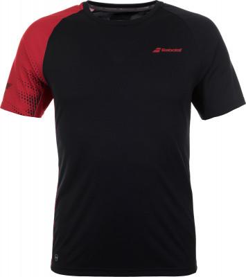 Футболка мужская Babolat Perf Crew, размер 48Футболки<br>Технологичная теннисная футболка от babolat гарантирует максимальный комфорт на корте.