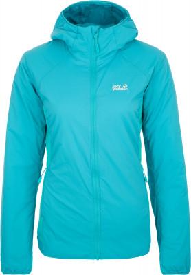 Куртка утепленная женская JACK WOLFSKIN Opouri Peak, размер 52-54Куртки <br>Компактная и легкая, но при этом теплая куртка opouri peak от jack wolfskin, выполненная из мембранного материала - отличный выбор для походов и активного отдыха на природе.