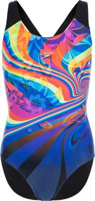 Купальник для девочек Speedo Digi Plmt, размер 128Купальники <br>Купальник для девочек от speedo - удачный выбор для тренировок в бассейне. Защита от хлора модель выполнена из ткани endurance, устойчивой к воздействию хлора.