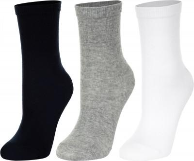 Носки для мальчиков Wilson, 3 пары, размер 27-30Носки<br>Детские носки для занятий спортом хорошо пропускают воздух и великолепно сидят на ноге, обеспечивая максимальный комфорт при носке.