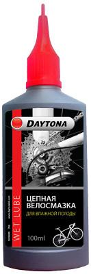 Цепная смазка для влажной погоды Daytona 100млЦепная смазка для влажной погоды и поездок в дождь, при влажности воздуха более 70%. Уменьшает трение и износ механических деталей.<br>Пол: Мужской; Возраст: Взрослые; Вид спорта: Велоспорт; Объем: 100 мл; Производитель: Daytona; Артикул производителя: 2010190; Страна производства: Россия; Размер RU: Без размера;