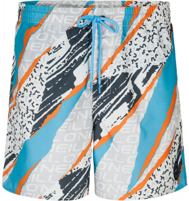 Шорты пляжные мужские ONeil SunstrokeПляжные шорты с оригинальным принтом от o neill - превосходный выбор для активного отдыха у воды. Быстрое высыхание ткань с обработкой hyperdry быстро сохнет.<br>Пол: Мужской; Возраст: Взрослые; Вид спорта: Surf style; Защита от УФ: Нет; Устойчивость к хлору: Нет; Гипоаллергенная ткань: Нет; Длина по боковому шву: 40 см; Материал верха: 100 % полиэстер; Материал подкладки: 100 % полиэстер; Технологии: HyperDry; Производитель: ONeill; Артикул производителя: 8A3601; Страна производства: Камбоджа; Размер RU: 46-48;