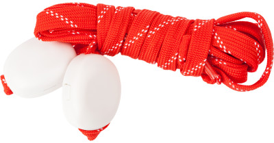Шнурки светодиодные I-JumpШнурки со встроенными светодиодами разработаны специально для увеличения безопасности при занятии спортом в условиях плохой видимости.<br>Пол: Мужской; Возраст: Взрослые; Вид спорта: Аксессуары; Материалы: 35 % нейлон, 20 % пластик, 18 % полиэтилентерефталат, 10 % провод МГТФ, 10 % светодиоды, 7 % картон; Длина: 120 см; Производитель: I-Jump; Артикул производителя: ND-004-120-RED; Страна производства: Россия; Размер RU: 120;