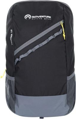 Outventure Voyager 15Практичный мультиспортивный рюкзак объемом 15 литров от outventure. Функциональность фронтальный и два боковых кармана позволяют удобно распределить вещи.<br>Объем: 15 л; Размеры (дл х шир х выс), см: 46 х 27 х 14; Вес, кг: 0,3; Нагрудный ремень: Да; Боковые карманы: Да; Фронтальный карман: Да; Материал верха: 100 % полиэстер; Материал подкладки: 100 % полиэстер; Вид спорта: Кемпинг, Походы; Производитель: Outventure; Срок гарантии: 10 лет; Артикул производителя: EOUOB00899; Страна производства: Китай; Размер RU: Без размера;