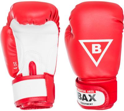 Перчатки боксерские детские BAXПрочные детские боксерские перчатки со специальным уплотнителем предназначены для тренировок.<br>Тип фиксации: Липучка; Материал верха: Кожзаменитель с двойным слоем полиуретана; Материал наполнителя: Изолон, пенополиуретан; Материал подкладки: Кожзаменитель (экокожа); Вид спорта: Бокс; Производитель: Bax; Артикул производителя: PBR4; Страна производства: Россия; Размер RU: 4 oz;