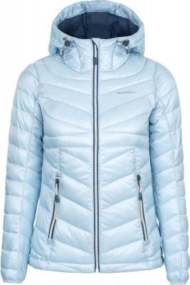 Куртка утепленная женская MerrellКороткая утепленная куртка для походов от merrell. Дополнительная защита от непогоды в модели предусмотрен капюшон. Практичность 2 кармана подойдут для хранения мелочей.<br>Пол: Женский; Возраст: Взрослые; Вид спорта: Походы; Вес утеплителя на м2: 181 г/м2; Температурный режим: До +5; Покрой: Приталенный; Длина куртки: Короткая; Капюшон: Не отстегивается; Количество карманов: 2; Материал верха: 100 % полиэстер; Материал подкладки: 100 % полиэстер; Материал утеплителя: 100 % полиэстер; Производитель: Merrell; Артикул производителя: RJAW08S042; Страна производства: Китай; Размер RU: 42;