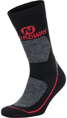 Купить Носки Nordway, 1 пара, размер 43-46 черного цвета