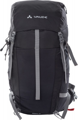VauDe Brenta 35Вместительный спортивный рюкзак vaude brenta 35 - отличный выбор для пешего туризма. Вентиляция вентилируемая система подвески aeroflex easy adjust.<br>Объем: 35 л; Размеры (дл х шир х выс), см: 58 х 33 х 28; Вес, кг: 1,24; Число лямок: 2; Нагрудный ремень: Да; Поясной ремень: Да; Боковые стяжки: Да; Вентилируемые лямки: Да; Вентиляция спины: Да; Верхний клапан: Да; Регулировка клапана: Нет; Доступ в нижнее отделение: Нет; Доступ в боковое отделение: Да; Боковые карманы: Да; Фронтальный карман: Да; Отделение для ноутбука: Нет; Крепление для палок: Да; Крепление для ледового инструмента: Нет; Крепление для шлема: Нет; Чехол от дождя: Да; Материал верха: Полиамид с полиуретановым покрытием; Материал подкладки: Полиамид с полиуретановым покрытием; Вид спорта: Кемпинг, Походы; Производитель: VauDe; Срок гарантии: 1 год; Артикул производителя: 12162.10; Страна производства: Вьетнам; Размер RU: Без размера;