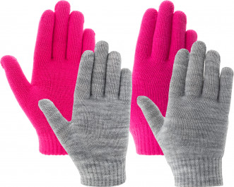 Перчатки для девочек IcePeak Highland, 2 пары