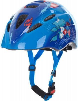 Шлем велосипедный детский UvexНадежный и легкий шлем для детей в возрасте от 1 до 3 лет.<br>Конструкция: In-mould; Вентиляция: Принудительная; Регулировка размера: Да; Тип регулировки размера: Поворотное кольцо IAS; Материал внешней раковины: Поликарбонат; Материал внутренней раковины: Вспененный полистирол; Материал подкладки: Полиэстер; Сертификация: EN 1078; Технологии: FAS, IAS 3.0, monomatic; Вес, кг: 0,185; Пол: Мужской; Возраст: Дети; Производитель: Uvex; Артикул производителя: S4143062215; Срок гарантии: 6 месяцев; Страна производства: Китай; Размер RU: 46-52;