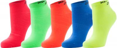 Носки Demix, 5 парПрекрасные спортивные носки из микрофибры отлично впитывают влагу и быстро сохнут. Благодаря вкраплению лайкры хорошо тянутся.<br>Пол: Мужской; Возраст: Взрослые; Вид спорта: Бег; Производитель: Demix; Артикул производителя: JUCZ01MCM; Страна производства: Китай; Материалы: 64 % акрил, 28 % полиэстер, 4 % полиамид, 4 % эластан; Размер RU: 39-42;