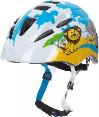 Шлем велосипедный детский UvexНадежный и легкий шлем для детей в возрасте от 1 до 3 лет.<br>Конструкция: In-mould; Вентиляция: Принудительная; Регулировка размера: Да; Тип регулировки размера: Поворотное кольцо IAS; Материал внешней раковины: Поликарбонат; Материал внутренней раковины: Вспененный полистирол; Материал подкладки: Полиэстер; Сертификация: EN 1078; Вес, кг: 0,185; Пол: Мужской; Возраст: Дети; Производитель: Uvex; Артикул производителя: S4143062015; Срок гарантии: 6 месяцев; Страна производства: Китай; Размер RU: 46-52;