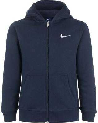 Джемпер для мальчиков Nike SportswearДжемпер от nike станет отличным завершение образа в спортивном стиле.<br>Пол: Мужской; Возраст: Дети; Вид спорта: Спортивный стиль; Капюшон: Не отстегивается; Количество карманов: 2; Застежка: Молния; Производитель: Nike; Артикул производителя: 619069-451; Страна производства: Малайзия; Материал верха: 80 % хлопок, 20 % полиэстер; Размер RU: 140-152;