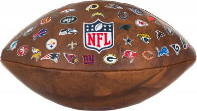 Мяч для американского футбола Wilson NFL 32 TEAM LOGO