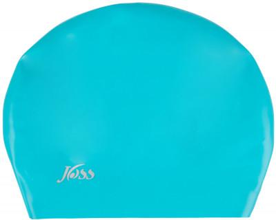 Шапочка для плавания женская JossСиликоновая шапочка имеет особую форму, разработанную специально для длинных волос - имеет дополнительное место для размещения и удержания длинных волос, обеспечивая защиту<br>Пол: Женский; Возраст: Взрослые; Вид спорта: Плавание; Назначение: Универсальные; Производитель: Joss; Артикул производителя: WAC02A7N40; Страна производства: Китай; Материалы: 100 % силикон; Размер RU: Без размера;