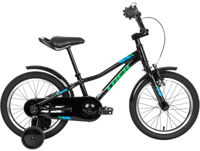 Trek PRECALIBER 16 BOYS (2018)Детский велосипед для езды по городу и катания в парке. Модель рассчитана на возраст 3-6 лет и рост 89-110 см. Легкость легкая и прочная алюминиевая рама.<br>Материал рамы: Алюминий; Амортизация: Hard tail; Конструкция рулевой колонки: Неинтегрированная; Конструкция вилки: Жесткая; Материал педалей: Нейлон; Система: Alloy, 26T w/chainguard; Количество скоростей: 1; Конструкция педалей: Классические; Тип переднего тормоза: Ободной; Тип заднего тормоза: Ободной; Материал втулок: Сталь; Диаметр колеса: 16; Тип обода: Одинарный; Материал обода: Алюминиевый сплав; Наименование покрышек: Bontrager Dialed 16 x 1,75; Возможность крепления боковых колес: Да; Материал руля: Алюминий; Конструкция руля: Изогнутый; Регулировка руля: Нет; Регулировка седла: Да; Амортизационный подседельный штырь: Нет; Максимальный вес пользователя: 36 кг; Вид спорта: Велоспорт; Технологии: Alpha Silver; Производитель: Trek; Артикул производителя: TR553304; Срок гарантии: 6 месяцев; Вес, кг: 9,1; Страна производства: Китай; Размер RU: 100-125;