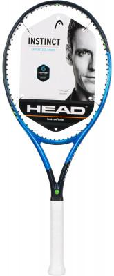 Ракетка для большого тенниса Head Graphene Touch Instinct MPРакетка instinct mp с новой конструкцией обода - это сочетание мощности и непревзойденного комфорта во время игры. Модель подходит теннисистам с экспертным уровнем игры.<br>Материал ракетки: Графен; Вес (без струны), грамм: 300; Размер головы: 645 кв.см; Баланс: 320 мм; Толщина обода: 23-26-23 мм; Длина: 27; Струнная формула: 16х19; Стиль игры: Агрессивный стиль; Технологии: Graphene Touch; Производитель: Head; Артикул производителя: 231907; Срок гарантии: 2 года; Страна производства: Китай; Вид спорта: Теннис; Уровень подготовки: Профессионал; Наличие струны: Опционально; Наличие чехла: Опционально; Размер RU: 4;