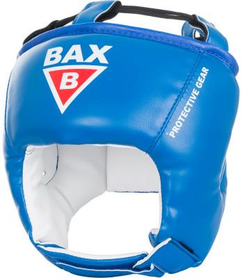 Шлем детский BAXПрочный и долговечный шлем из синтетической кожи защитит голову, сохранив при этом угол обзора, чтобы ребенок смог лучше наблюдать за действиями своего партнера.<br>Материал верха: Кожзаменитель с двойным слоем полиуретана; Материал подкладки: Кожзаменитель (экокожа); Материал наполнителя: Изолон, пенополиуретан; Вид спорта: Бокс, Карате, ММА; Производитель: Bax; Артикул производителя: HPB9; Размер RU: 57-58;