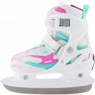 Ледовые коньки раздвижные для девочек Roces Yuma Girl