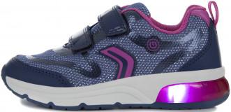 Кроссовки для девочек Geox Spaceclub