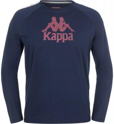 Футболка с длинным рукавом мужская Kappa, размер 48Футболки<br>Оригинальная футболка kappa - отличный выбор для твоего спортивного образа! Уникальный дизайн яркие цвета и дизайн в фирменном стиле бренда.