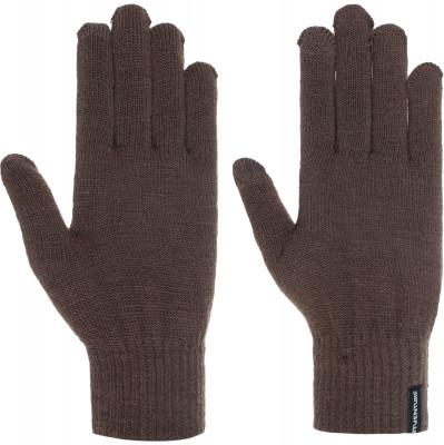 Перчатки OutventureВязаные перчатки для прогулок и активного отдыха. Специальная вставка на указательных пальцах для экранов мобильных устройств тач-скрин.<br>Пол: Мужской; Возраст: Взрослые; Вид спорта: Путешествие; Производитель: Outventure; Артикул производителя: B17AOUGT3L; Страна производства: Китай; Материал верха: 77 % акрил, 19 % полиестер, 2 % эластодиен, 1 % спандекс, 1 % металлическая нить; Размер RU: 9;