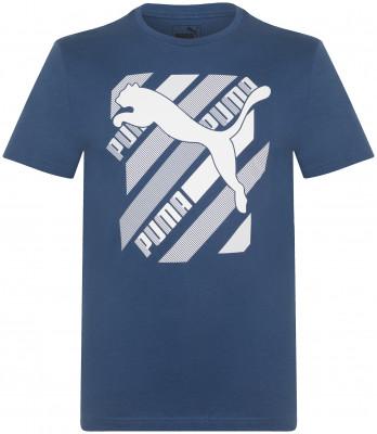Футболка мужская Puma Cat Brand Graphic, размер 46-48
