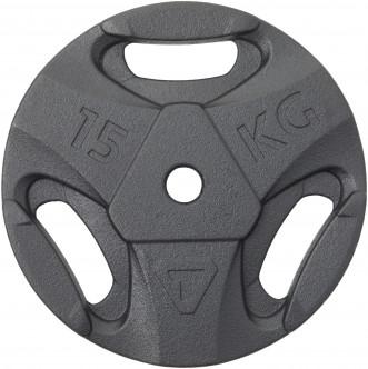 Блин стальной Torneo, 15 кг, 2020-21