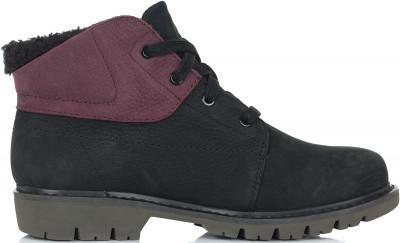 Фото 5 - Ботинки утепленные женские Caterpillar Fret Fur Fleece, размер 34.5 черного цвета