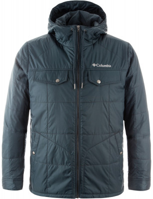 Куртка утепленная мужская Columbia Montague FallsМужская куртка от columbia станет отличным выбором для тех, кто любит путешествия. Сохранение тепла синтетический утеплитель microtemp гарантирует защиту от холода.<br>Пол: Мужской; Возраст: Взрослые; Вид спорта: Путешествие; Вес утеплителя на м2: 80 г/м2; Наличие мембраны: Нет; Возможность упаковки в карман: Нет; Регулируемые манжеты: Да; Длина по спинке: 79 см; Покрой: Прямой; Светоотражающие элементы: Нет; Дополнительная вентиляция: Нет; Проклеенные швы: Нет; Длина куртки: Длинная; Наличие карманов: Да; Капюшон: Не отстегивается; Мех: Отсутствует; Количество карманов: 4; Водонепроницаемые молнии: Нет; Застежка: Молния; Технологии: Omni-Shield; Производитель: Columbia; Артикул производителя: 1736961435M; Страна производства: Вьетнам; Материал верха: 100 % нейлон; Материал подкладки: 100 % полиэстер; Материал утеплителя: 100 % полиэстер; Размер RU: 46-48;