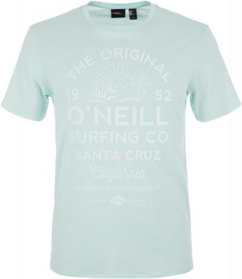 Футболка мужская ONeill Lm Muiir, размер 46-48Surf Style <br>Футболка от o neill - отличный выбор для активного отдыха у воды. Свобода движений максимальная свобода движений благодаря прямому крою футболки.