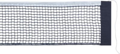 Сетка для настольного тенниса TorneoУпругая нейлоновая сетка для настольного тенниса выполнена из качественного и прочного материала, обладает высокими износостойкими свойствами. Длина 180 см.<br>Материалы: Нейлон; Вид спорта: Настольный теннис; Производитель: Torneo; Артикул производителя: TI-N1000; Срок гарантии: 12 месяцев; Страна производства: Китай; Размер RU: Без размера;